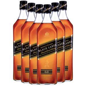 Johnnie Walker Black Label 12 YO 6 x 1L