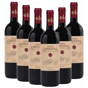 Antinori Santa Cristina Toscana Rosso 6 x 750ml