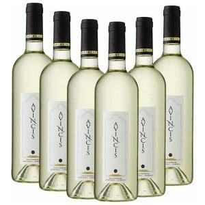 Avincis Mix Alb Muscat Ottonel Cramposie Sauvignon Blanc 6 x 750ml