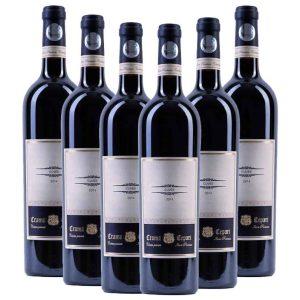 Cepari Cuvee Cabernet Sauvignon Pinot Noir Negru de Dragasani 6 x 750ml