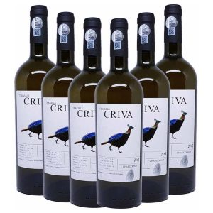 Cepari Terasele Criva Chardonnay 6 x 750ml