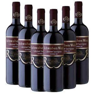 Recas Schwaben Wein Cabernet Sauvignon 6 x 750ml
