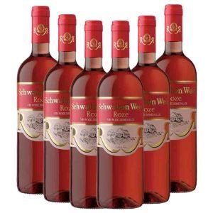 Recas Schwaben Wein Rose 6 x 750ml