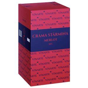 Vinarte Starmina Merlot Sec 10L_v2