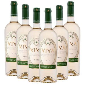 Vinarte Viva Alb Sauvignon Blanc Demisec 6 x 750ml
