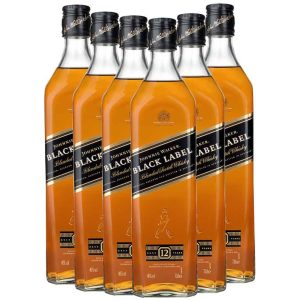 Johnnie Walker Black Label 12 YO 6 x 0.7L